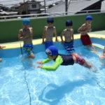 くまの幼稚園 楽しいプール
