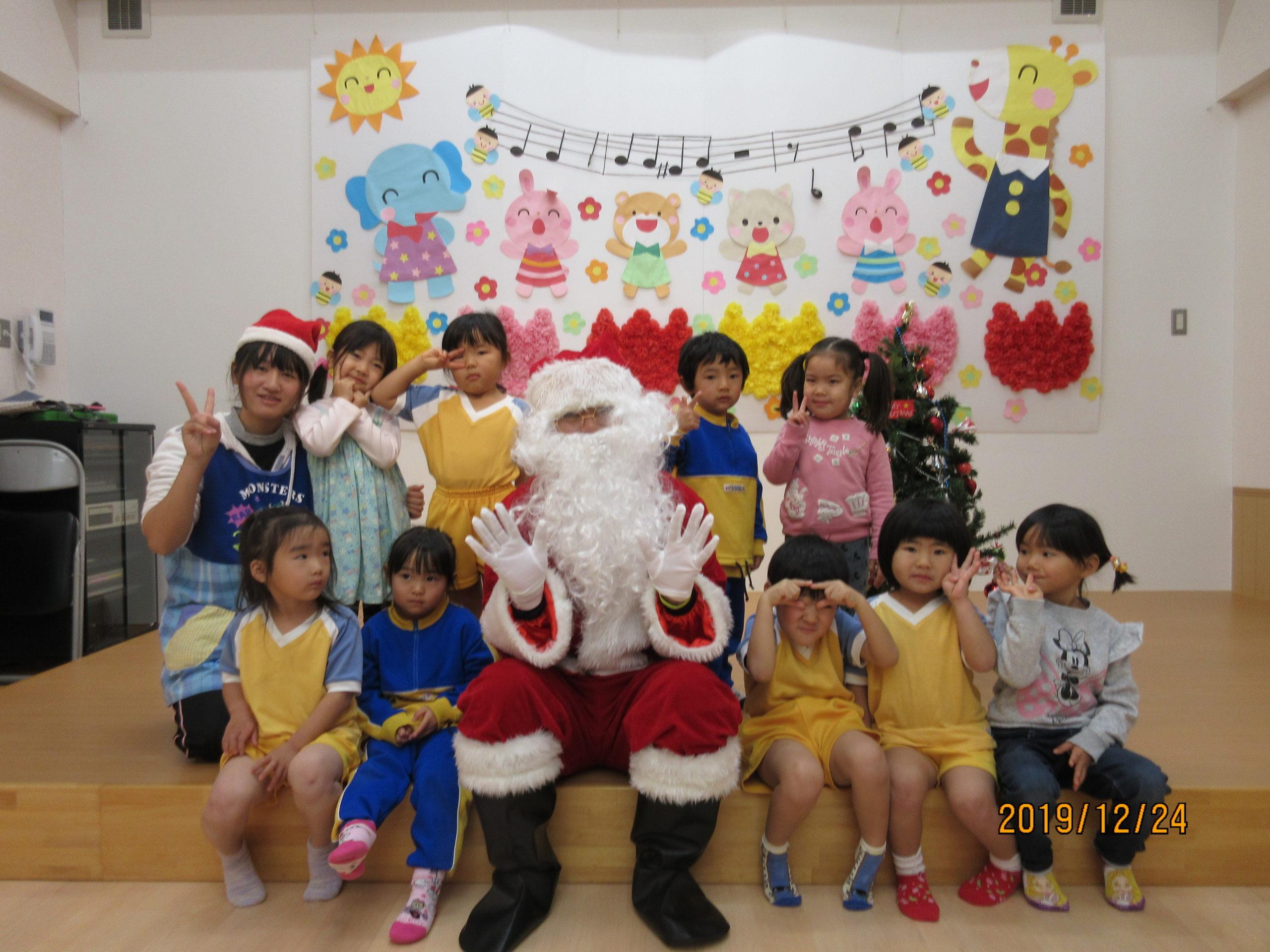 白石保育園クリスマス会