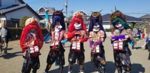 飯玉神社春季例大祭奉納獅子舞